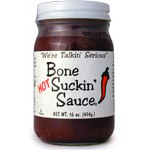 Bone Suckin' Sauce Hot BBQ and Marinating Sauce