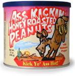 Ass Kickin' Honey Roasted Peanuts with Habanero Pepper