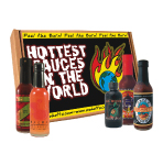 Hottest Sauces on Earth Gift Set