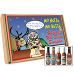 Happy Holidays Hot Sauce Gift Set