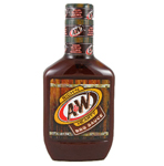 A & W Root Beer BBQ Sauce, 18 OZ.