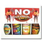 No Survivors Hot Sauce Gift Set