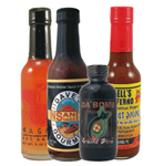 Fearsome Foursome Hot Sauce Sampler