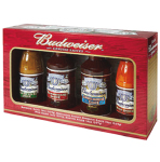 Budweiser Four Pack Gift Set