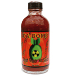 Da Bomb Ghost Pepper Hot Sauce