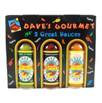 Dave's Gourmet Spicy 3 Hot Sauce Pack
