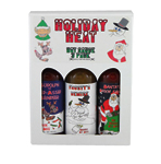 Holiday Heat Hot Sauce Gift Set