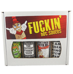 Hottest Fuckin' Sauces Gift Set