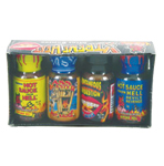 Mini Xtreme Heat Hot Sauce 4 Pack
