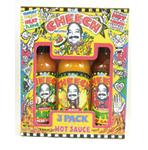 The Cheech 3 Hot Sauce Gift Set