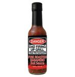 Danger Dad Fire Roasted Habanero Hot Sauce