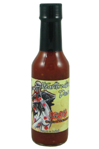 Heartbreaking Dawn's 1498 Trinidad Scorpion Hot Sauce