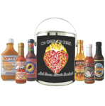Hot Sauce Lover's Gift Bucket