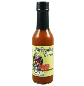 Heartbreaking Dawn's 1542 Chocolate Habanero Hot Sauce