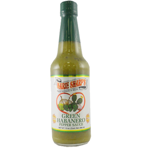 Marie Sharp's Green Habanero Hot Sauce with Prickly Pear 10 fl.oz.