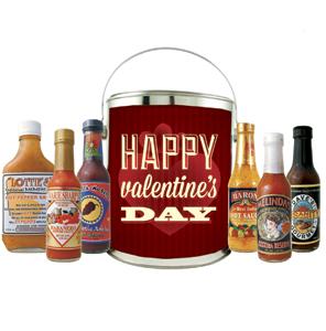 Happy Valentine's Day Gift Bucket