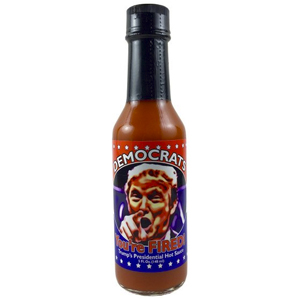 Democrats, You're Fired Trump's 2016 Presidential Hot Sauce