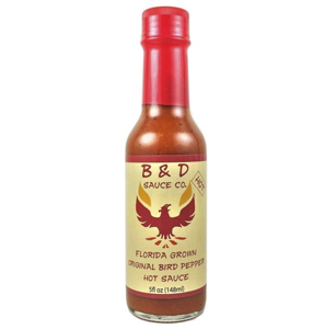 B&D Sauce Co. Batch #5 Florida Grown Original Bird Pepper Sauce