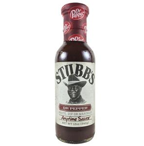 Stubb's Dr.Pepper Anytime Sauce
