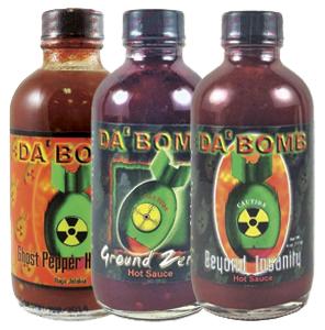 Da' Bomb Hot Sauce Bundle