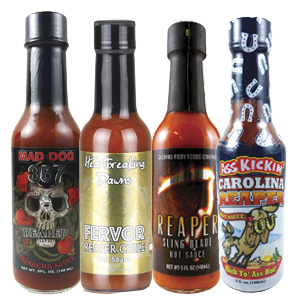Carolina Reaper Hot Sauce Bundle